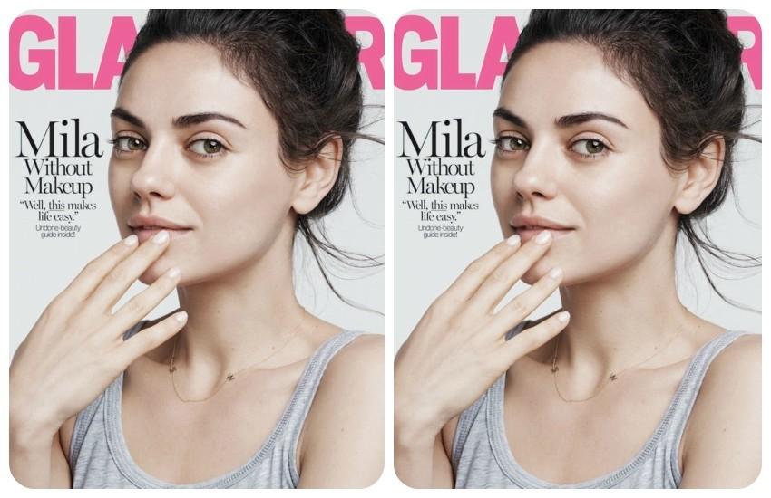 Mila Kunis na naslovncii Glamour magazina
