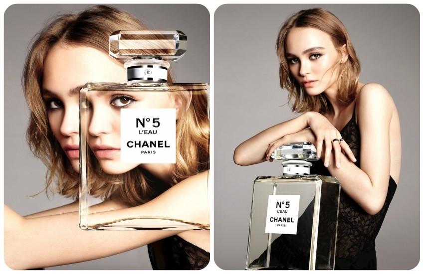 Lily-Rose Depp u Chanel No.5 L'Eau kampanji