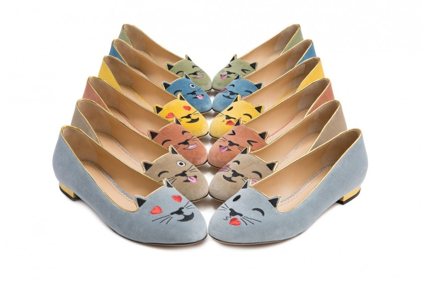 Charlotte Olympia #Emoticats collection
