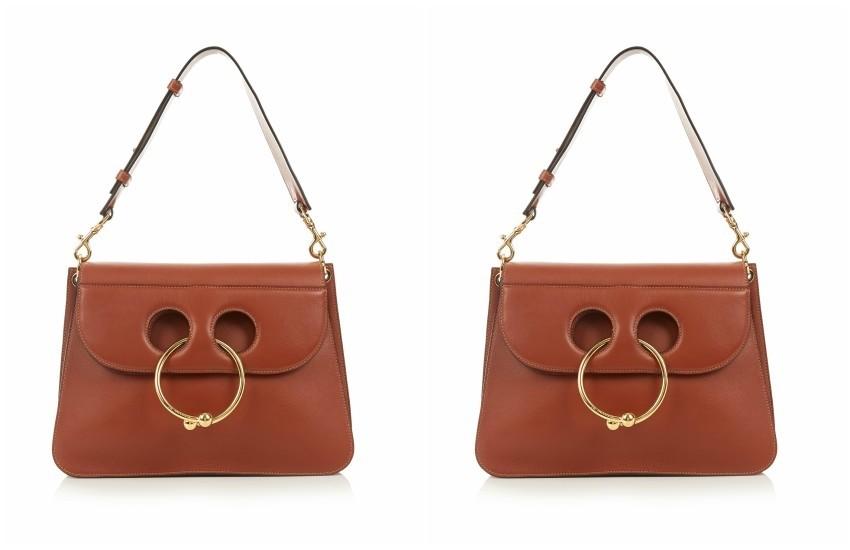 J.W.ANDERSON  Pierce medium leather shoulder bag €1,226