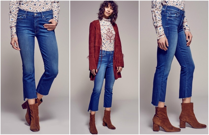 Free People Insider Step Fray Crop Jeans $208.00