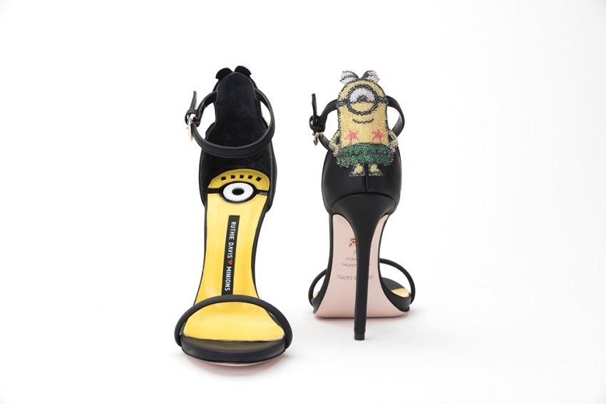 Ruthie Davis <3 Minions capsule collection