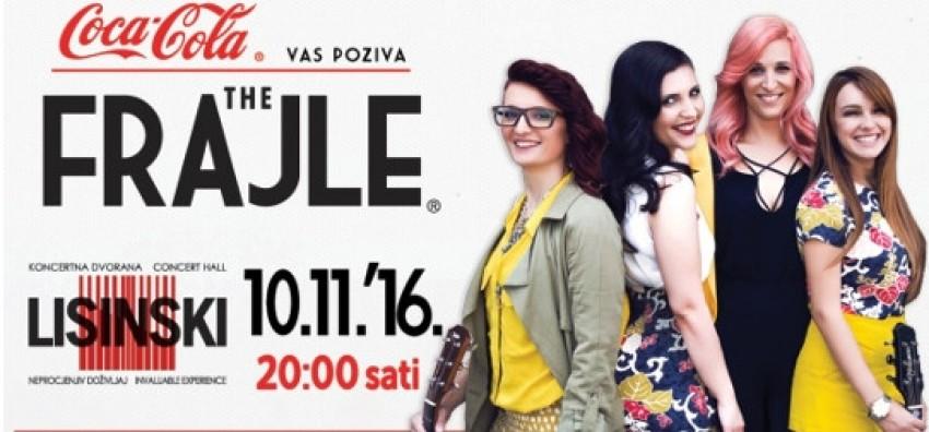The Frajle @ Koncertna dvorana Vatroslava Lisinskog