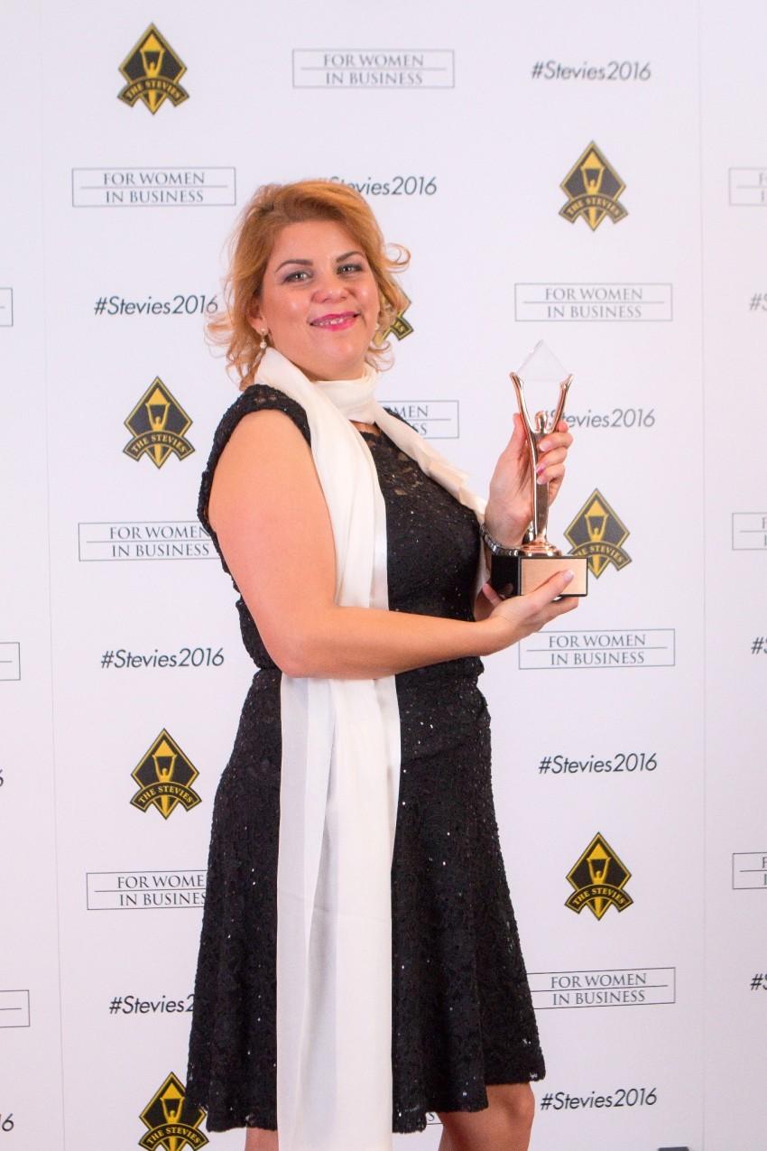 Vesna Pavletić, Biocrystal, Stevie award
