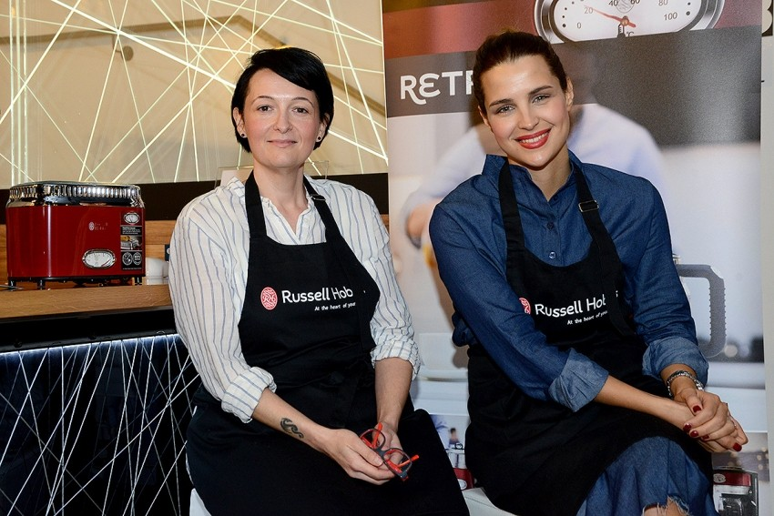 Doris Pinčić Rogoznica i nutricionistica Natalie Knežić za Russell Hobbs