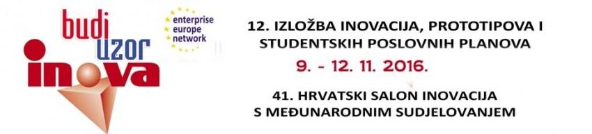 INOVA - BUDI UZOR - 41. hrvatski salon inovacija s međunarodni sudjelovanjem