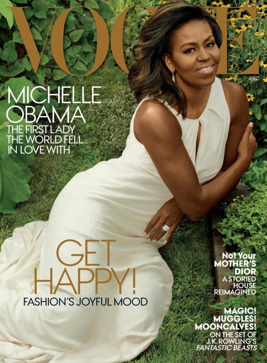 Michelle Obama na naslovnici američkog Voguea za prosinac 2016,