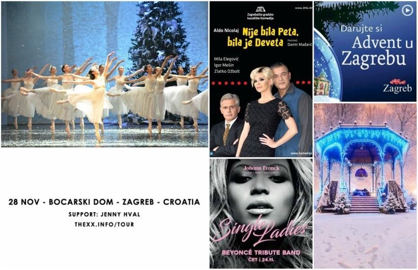 Tjedni vodič kroz zagrebačka događanja od 24.11. - 30.11.
