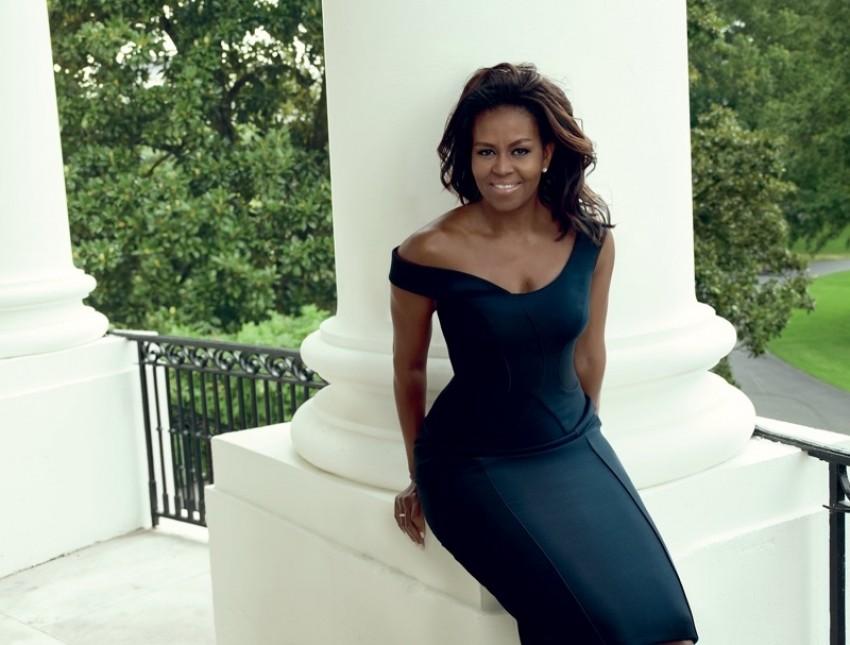 Prva dama Michelle Obama u Atelier Versace haljini