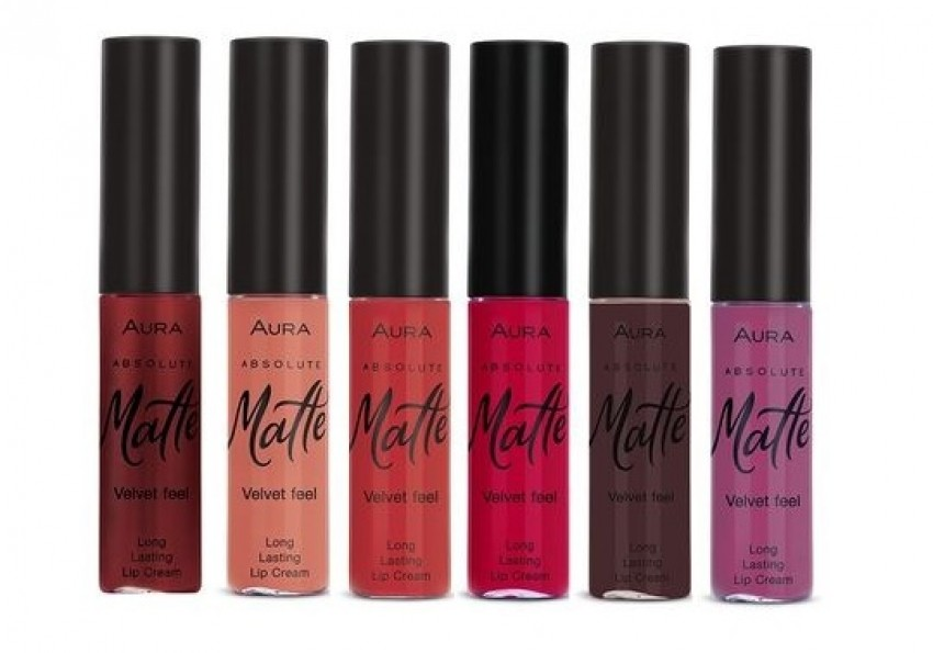 AURA ABSOLUTE MATTE LONGLASTING LIP CREAM