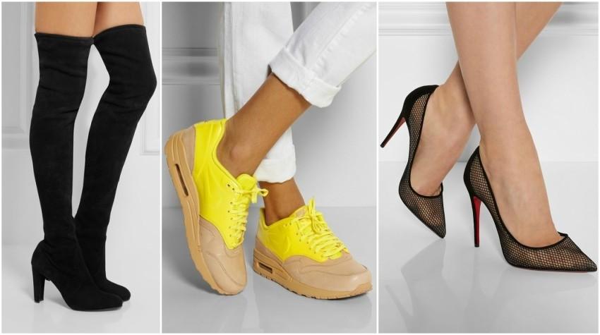 Stuart Weitzman // Nike // Christian Louboutin