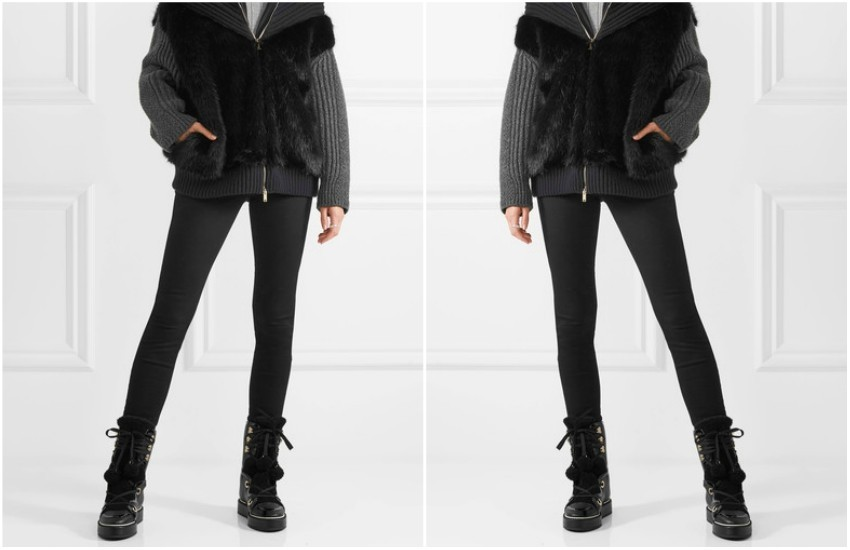 NICHOLAS KIRKWOOD Kira shearling-trimmed textured-leather boots £850