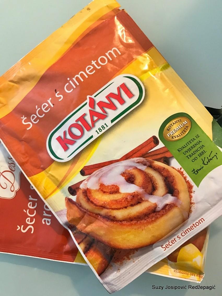 Kotanyi šećer sa cimetom i šećer s aromom naranče