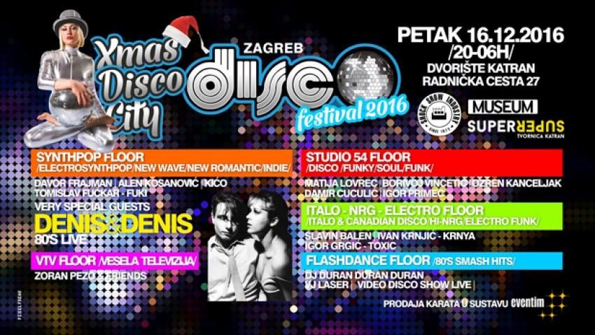 Zagreb DISCØ Festival 2016 - Xmas Disco City 16.12.2016 - 17.12.2016.