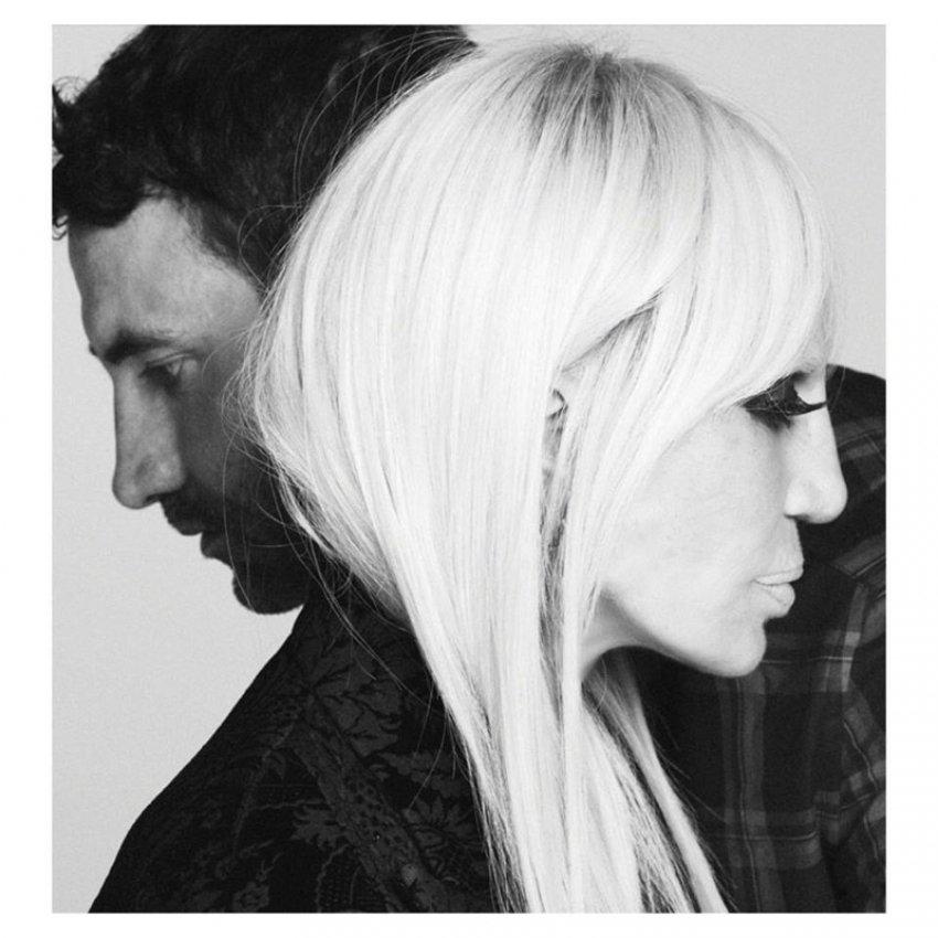 Riccardo Tisci i Donatella Versace poziraju u kampanji za Givenchy Fall 2015