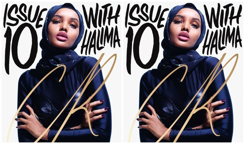 Halima Aden na naslovnici CR Fashion Book #10