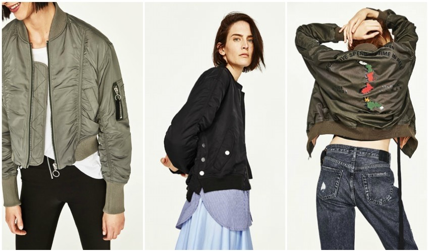 Top 3 must-have bomber jakne iz Zare