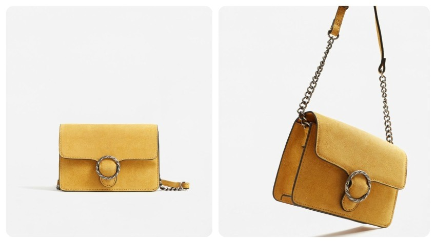 Mango Buckle leather bag (Kn249.90)