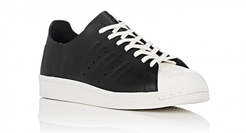 adidas x BNY Sole Series Superstar 80s Deconstructed Leather Sneakers