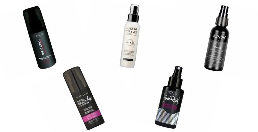 Top 5 fiksatora za šminku koje morate uključiti u svoju makeup rutinu