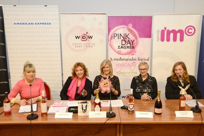 Press konferencija Pink day 2017: Vinković, Muzaferija, Marić, Kunštek, Ratković