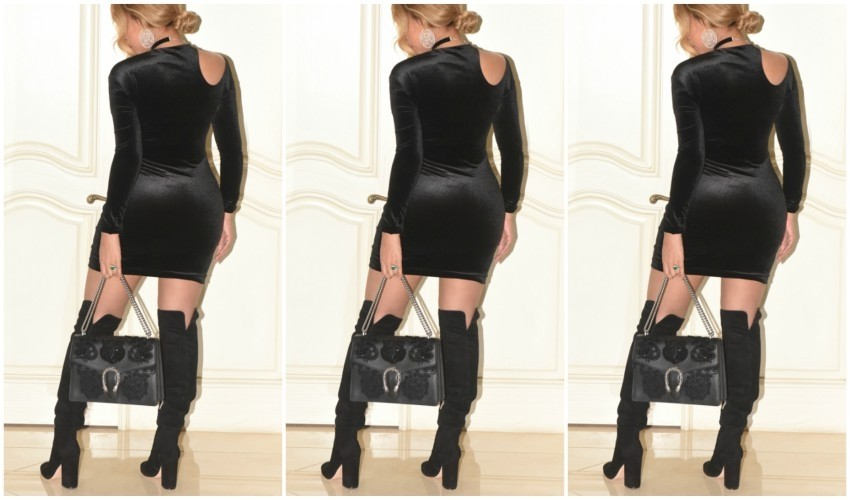 Beyoncé nosi Gianvito Rossi čizme i Gucci torbicu