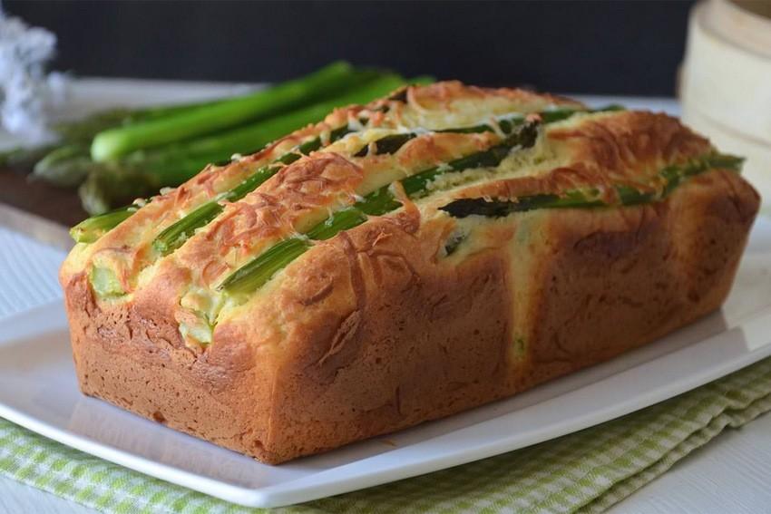 Slani kolač (kruh) sa šparogama