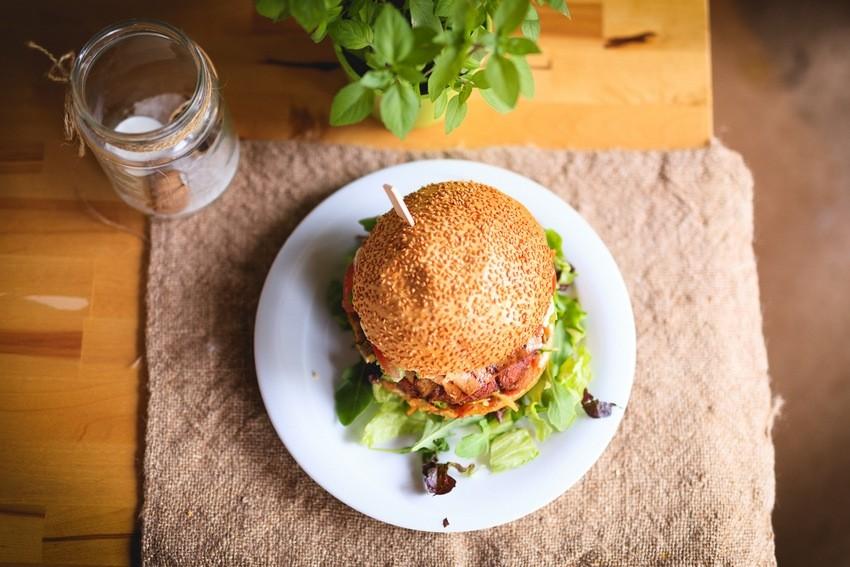 Hamburger deluxe - Green Hut