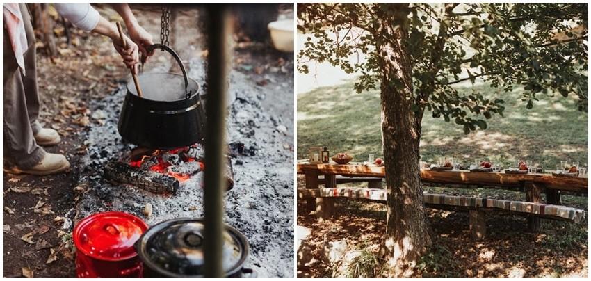 Ručak u šumi
