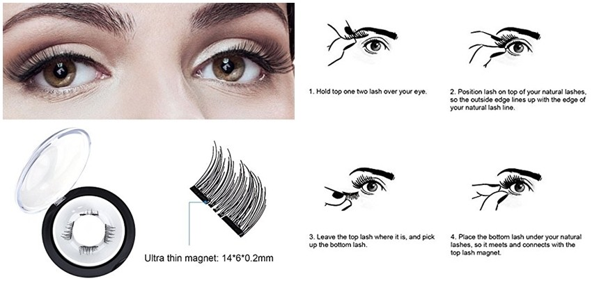 Umjetne trepavice magnet