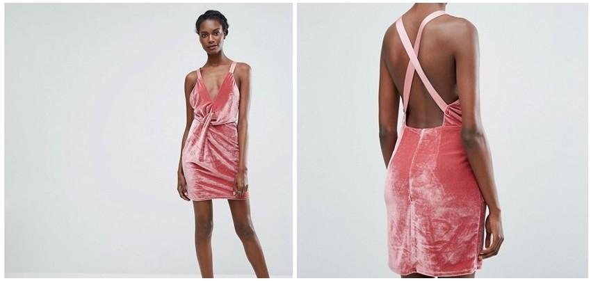 Baršunasta haljina
