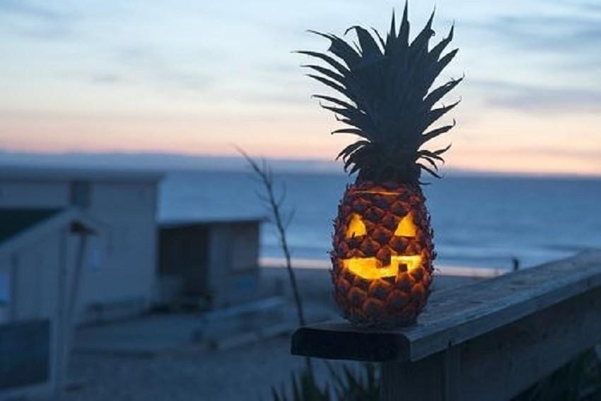 noć vještica ananas