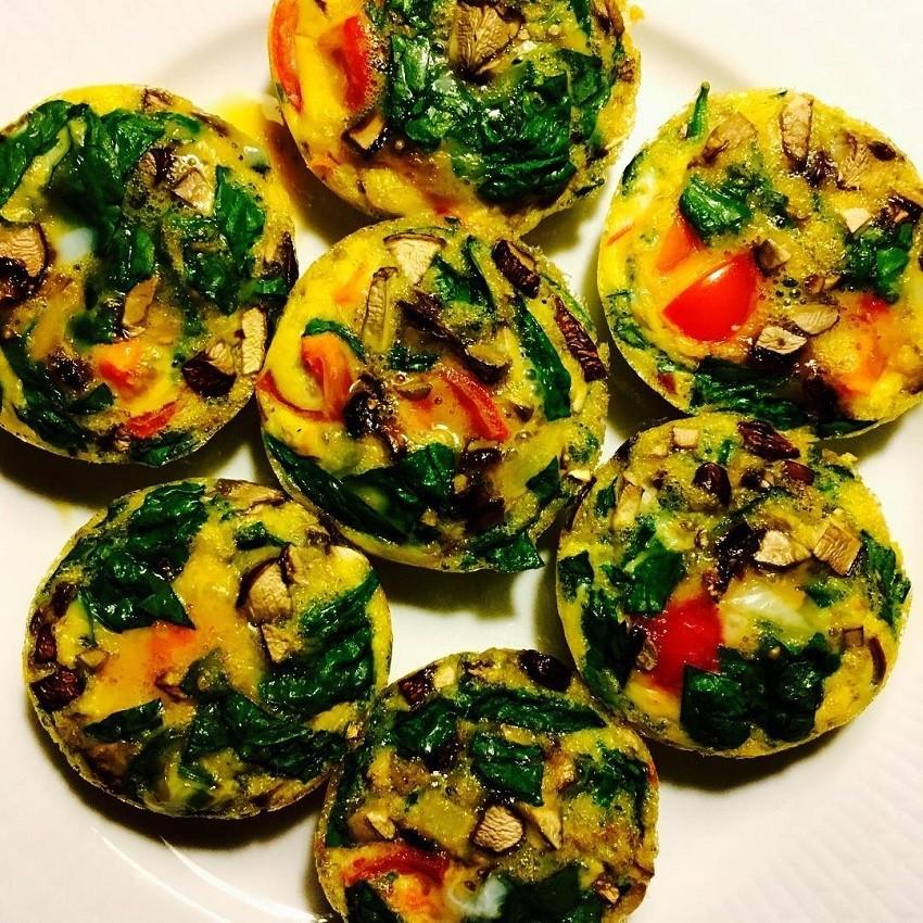 Muffini od jaja i povrća savršen su doručak ili međuobrok