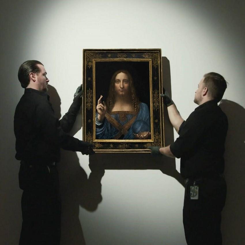"""Slika Leonarda da Vincija """"Salvator Mundi"""""""