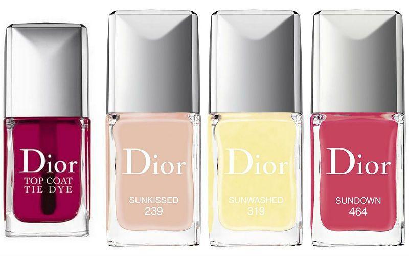 Dior Tie Dye Summer 2015 Collection