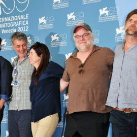 Paul Thomas Anderson with team, Venice film festival