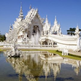 Wat Rong Khun ili White Temple, Tajland
