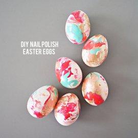 Savršeno ukrasite Uskršnja jaja... lakom za nokte?