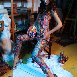 Marina Lacković Larie revije dizajn haljina model trend