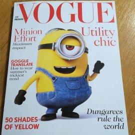 Minionsi na naslovnici britanskog Voguea?!