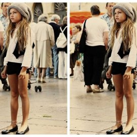 Thylane Blondeau - najpoznatiji dječji model (Vogue Paris)