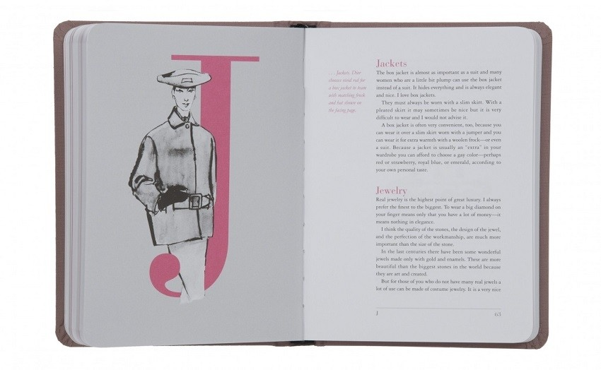 """Christian Dior The Little Dictionary of Fashion"""