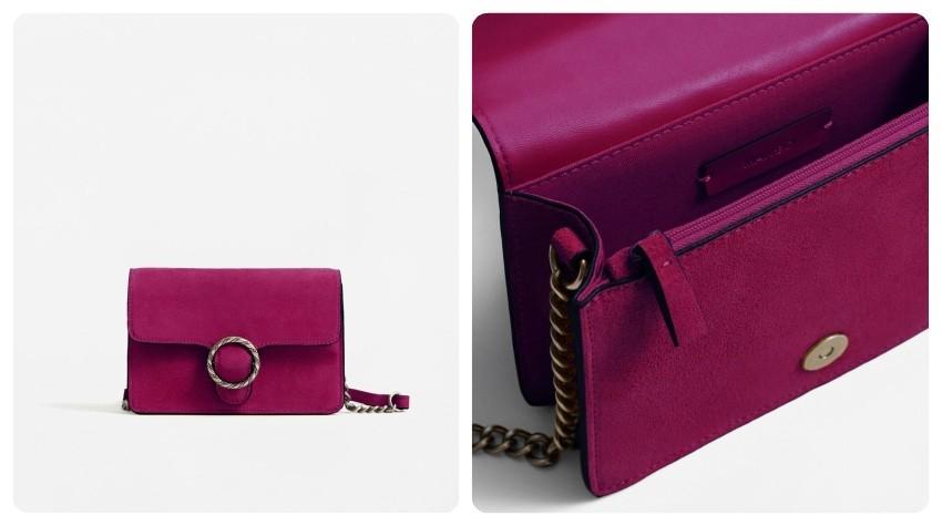 Mango Buckle leather bag (Kn249.90)