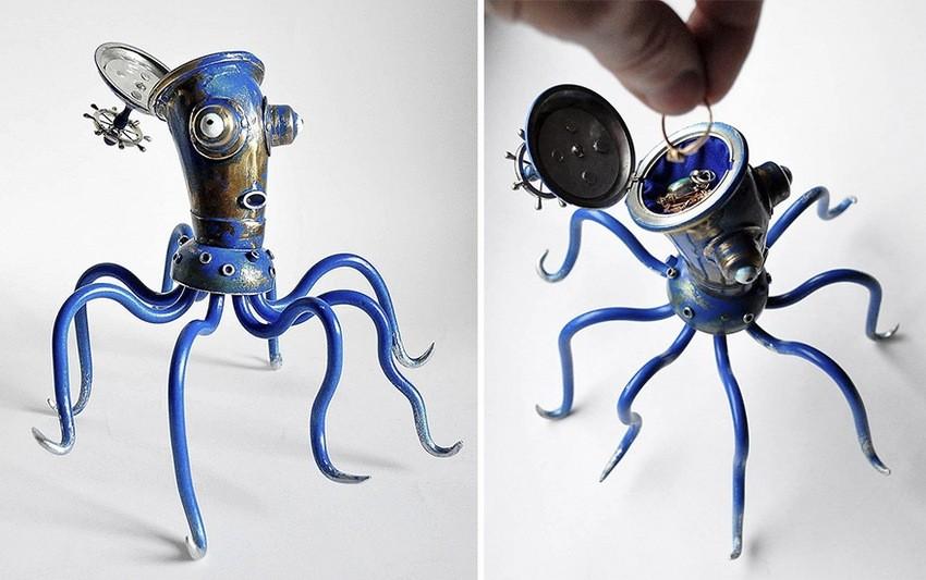Hobotnica kao kutijica za nakit
