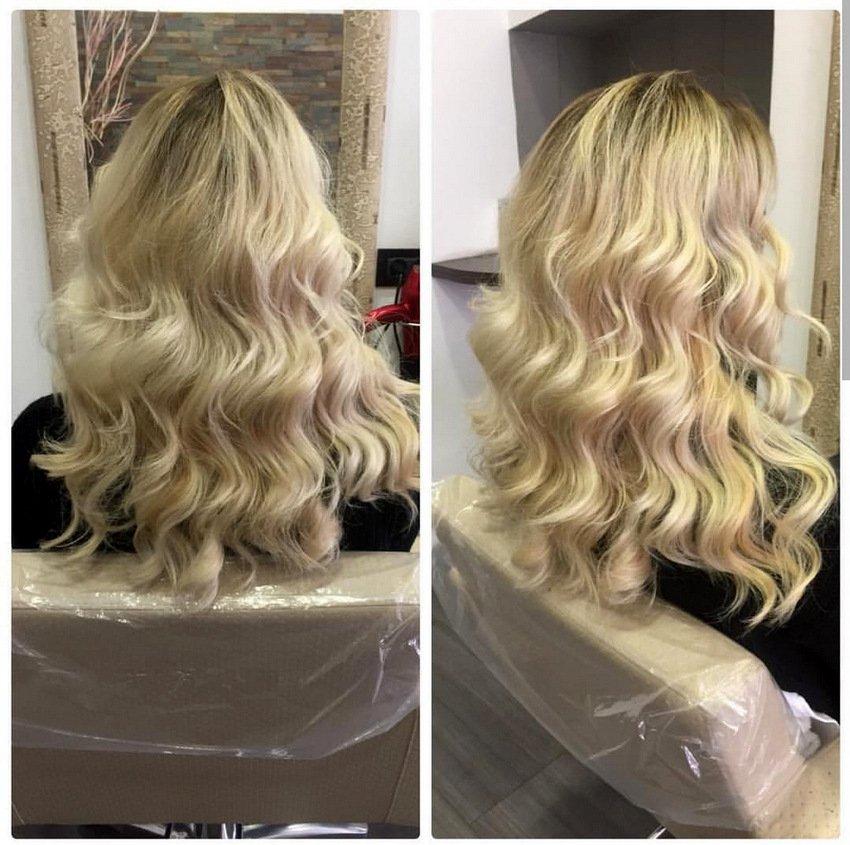 Ledeni tonovi - frizerski salon Renee