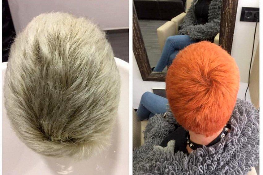 Žarka boja kose - frizerski salon Renee