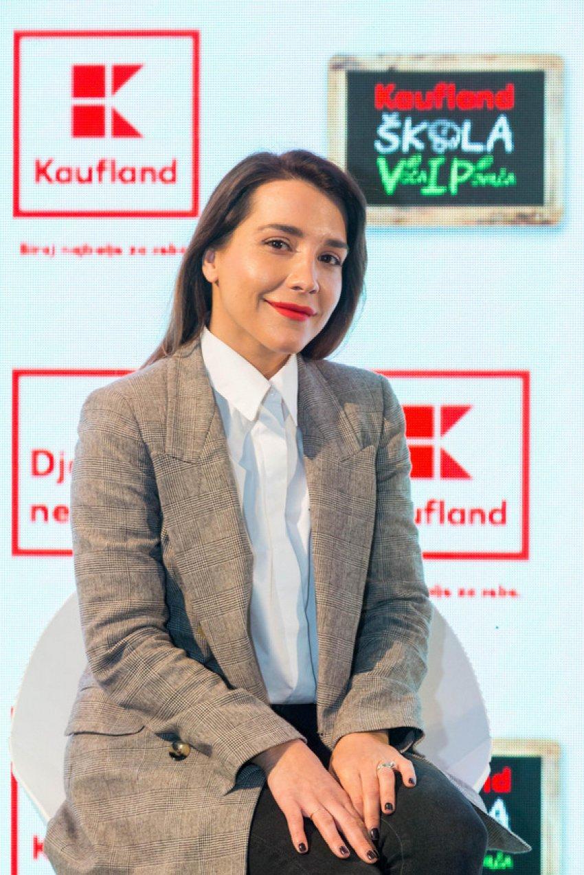 Marijana Batinić na press konferenciji Kauflanda