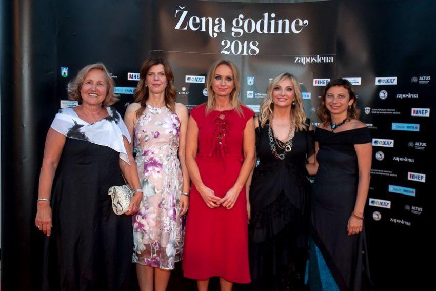 Žene godine 2018. Borzan, Radačić, Buljan, Primorac, Hauptfeld