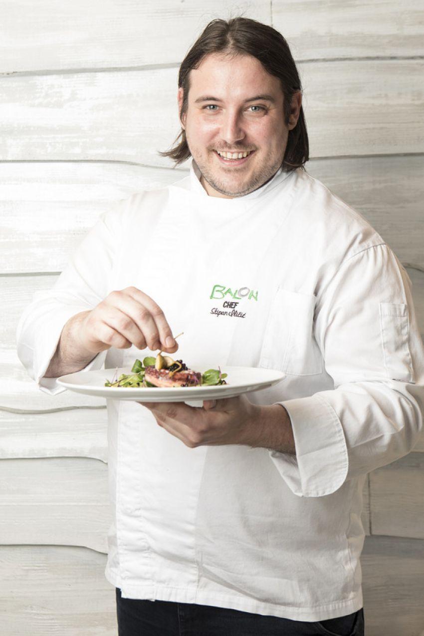 Chef Stipan Iličić iz restorana Balon