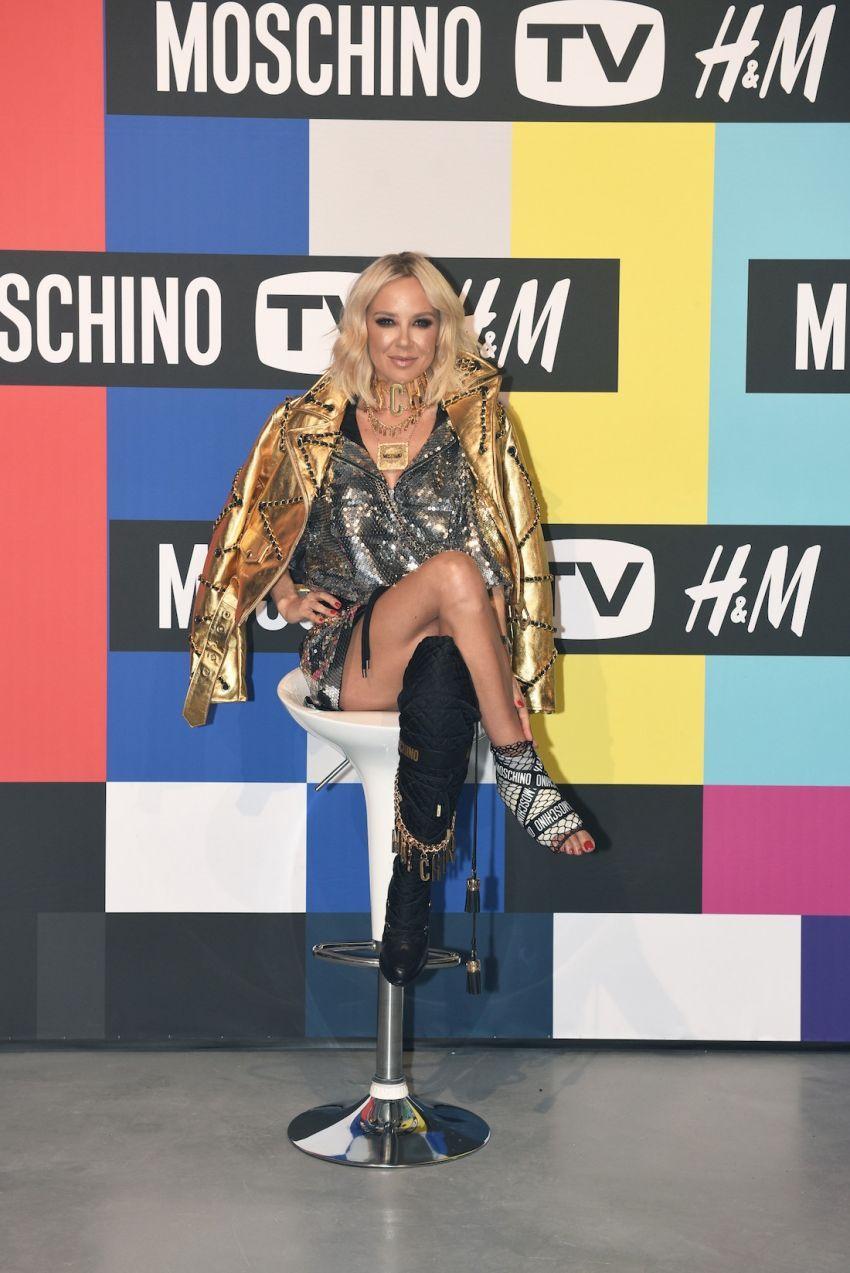 Maja Šuput za H&MxMoschino